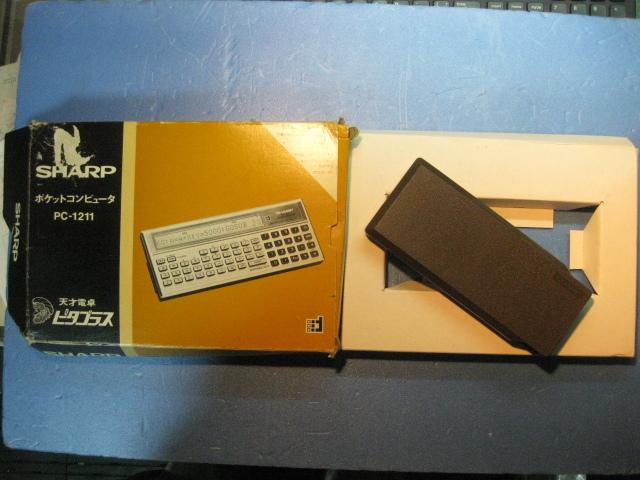 SHARPポケットコンピューター「ピタゴラス」エルシーメイト PC-1211 取説2冊他 ジャンク品