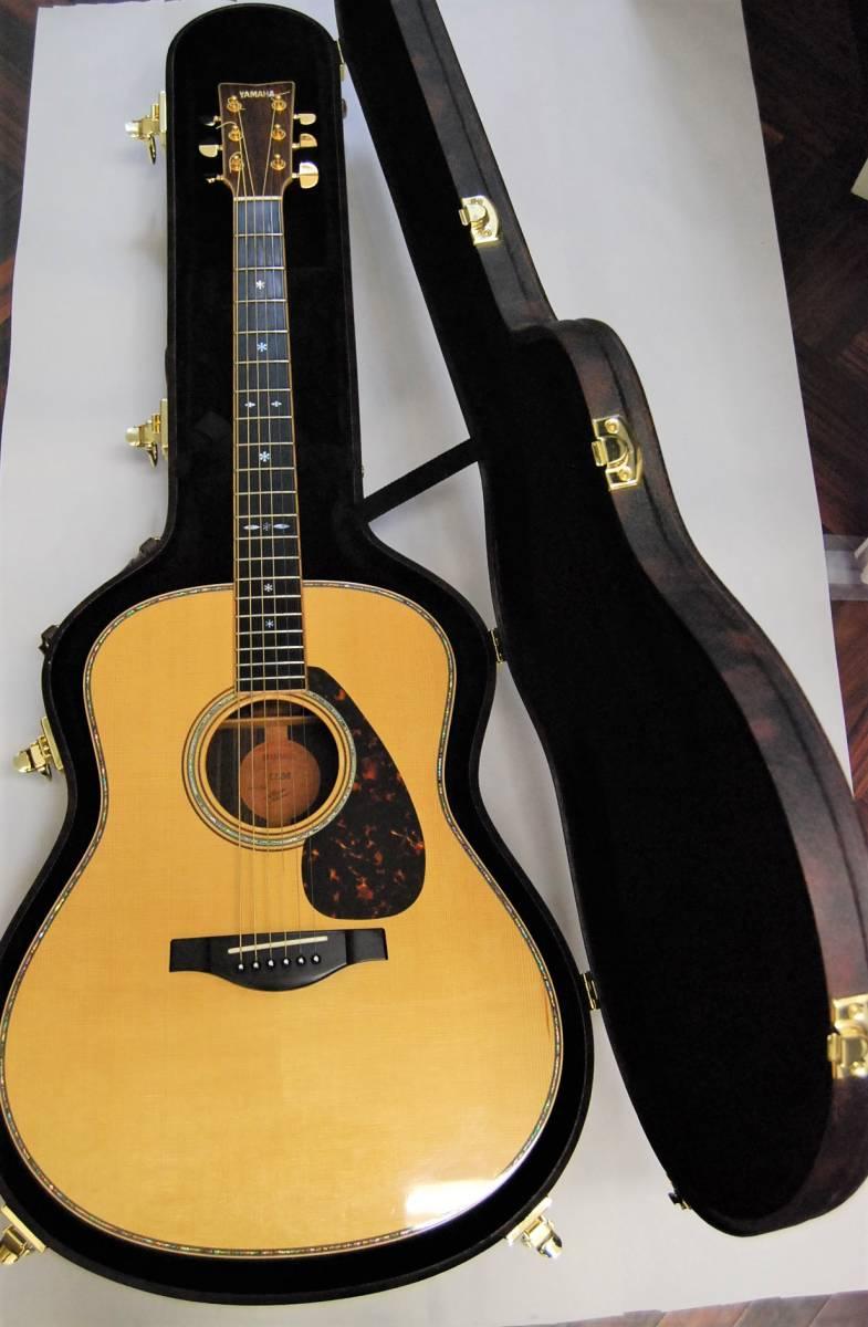 2M YAMAHA LL36 ヤマハ アコースティックギター アコギ ハードケース付 Lシリーズ 1円スタート