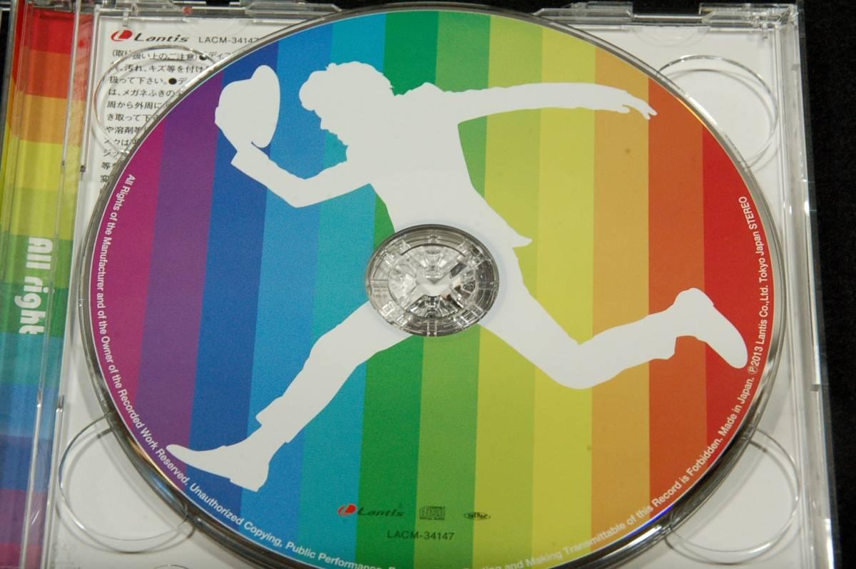 初回限定盤マキシシングルCD+DVD+帯■鈴村健一【All right】2013年10枚目/バベル.あいうえおんがく_画像5