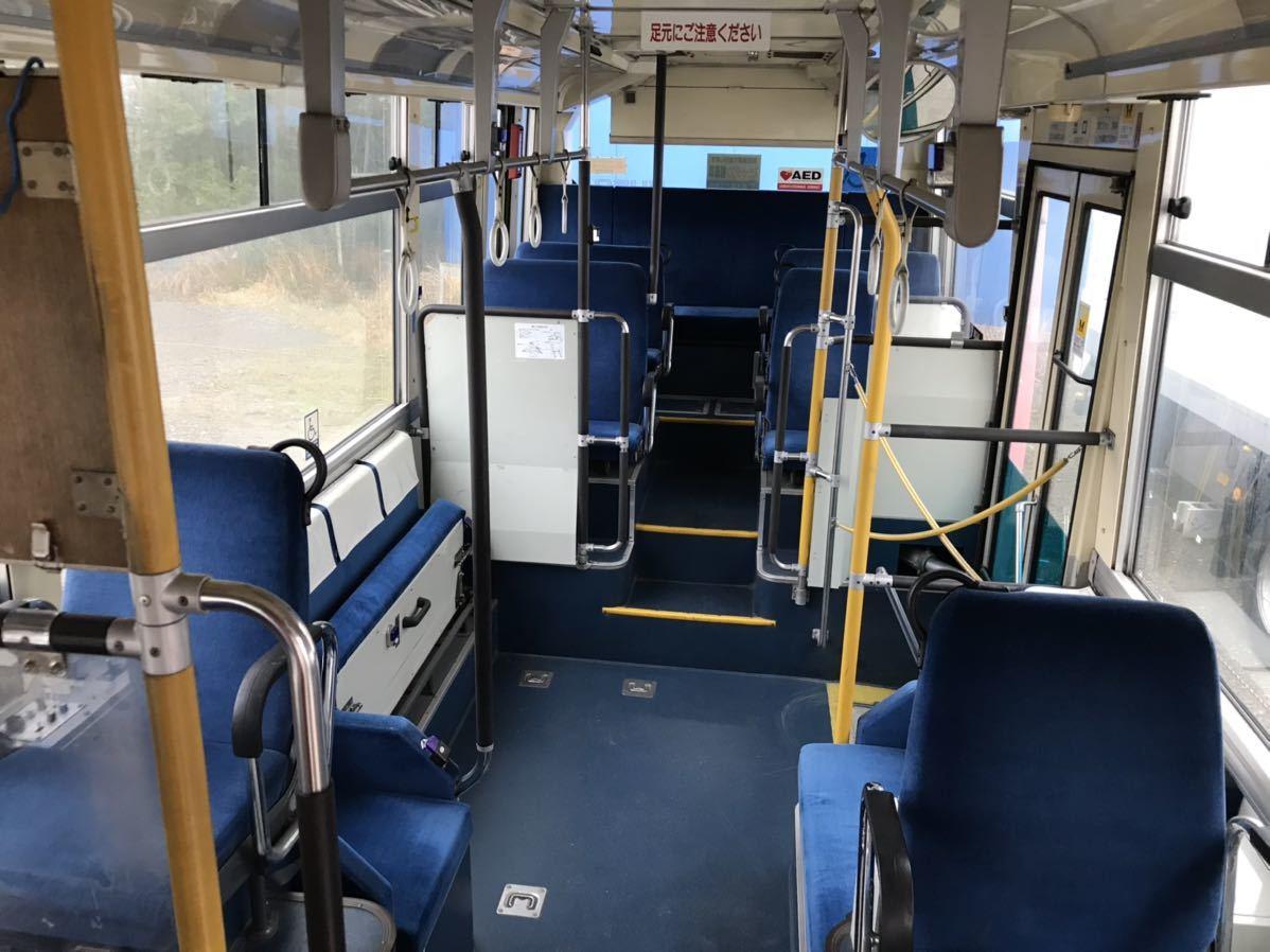 「平成14年式 三菱ふそう エアロミディ 小型ノンステップバス Nox適合!コミュニティバス、自家用バス、移動販売車、ケータリング等 5MT」の画像3