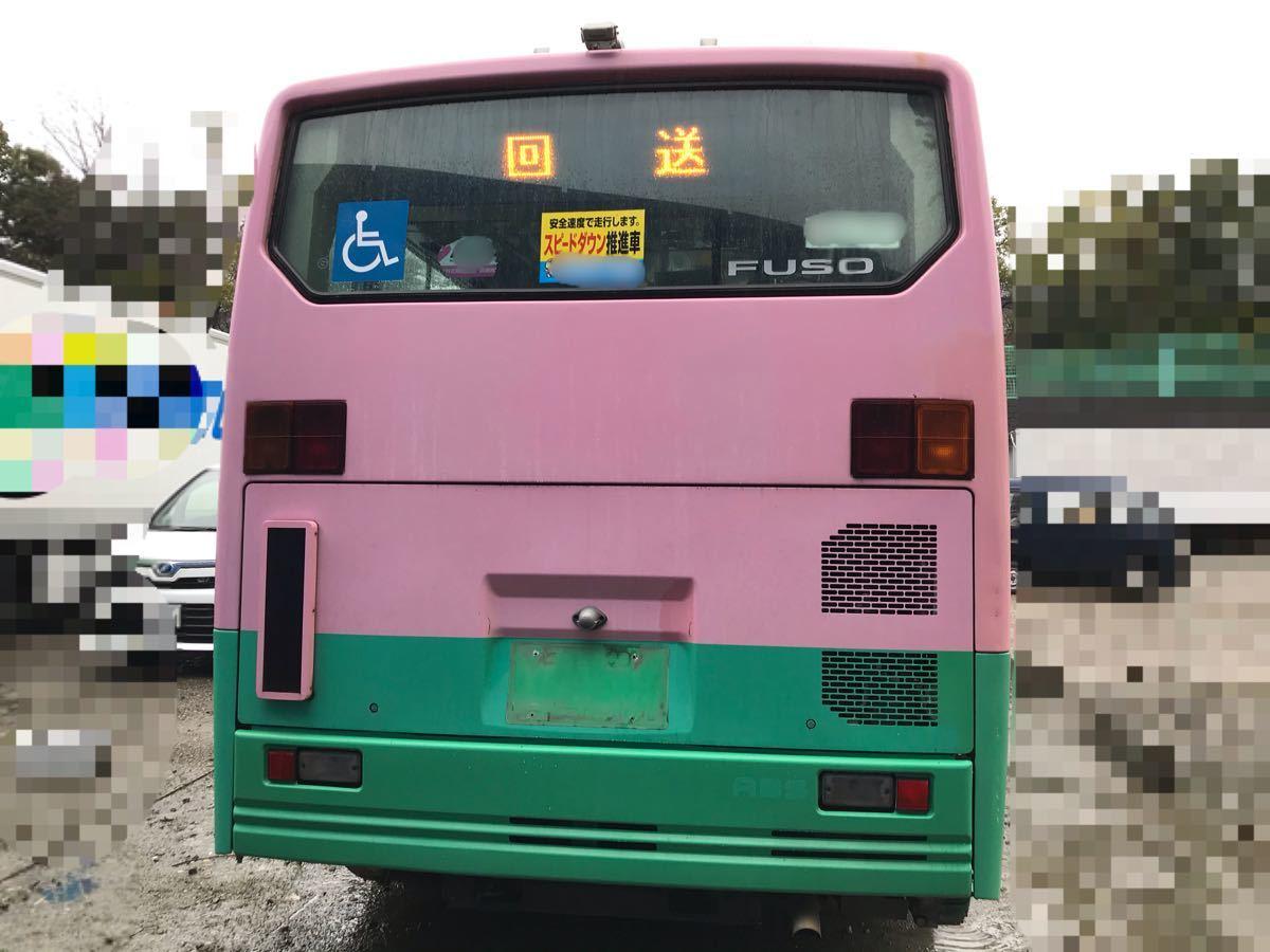 「平成14年式 三菱ふそう エアロミディ 小型ノンステップバス Nox適合!コミュニティバス、自家用バス、移動販売車、ケータリング等 5MT」の画像2