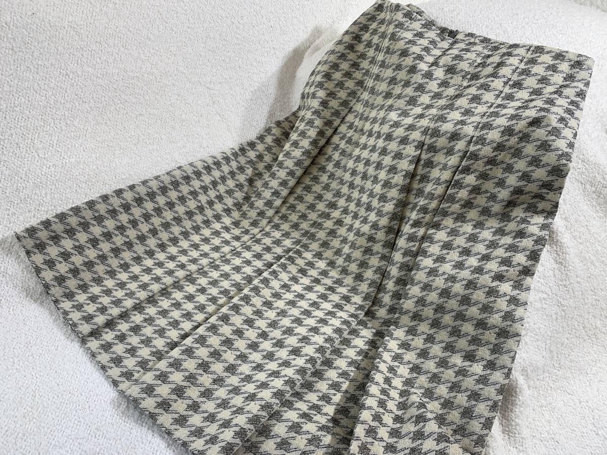 新品53.900円[KING]MORABITO?モラビト★スカート 9 NEAT 千鳥格子