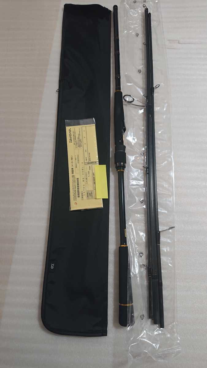 最新モデル 20 ラテオモバイル 90ML-4 新品、未使用 送料無料 ダイワ DAIWA LATEO MOBILE 90ML-4 シーバスロッド ショアジギ パックロッド_画像5