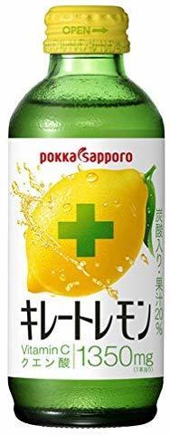 ポッカサッポロ キレートレモン. 155ml×24本 _画像1