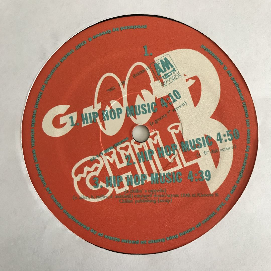 Groove B Chill - Hip Hop Music【US Orig.】【オリジナル】【Honey Drippers-Impeach the President/B.B. King/Marva Whitneyネタ】_画像3