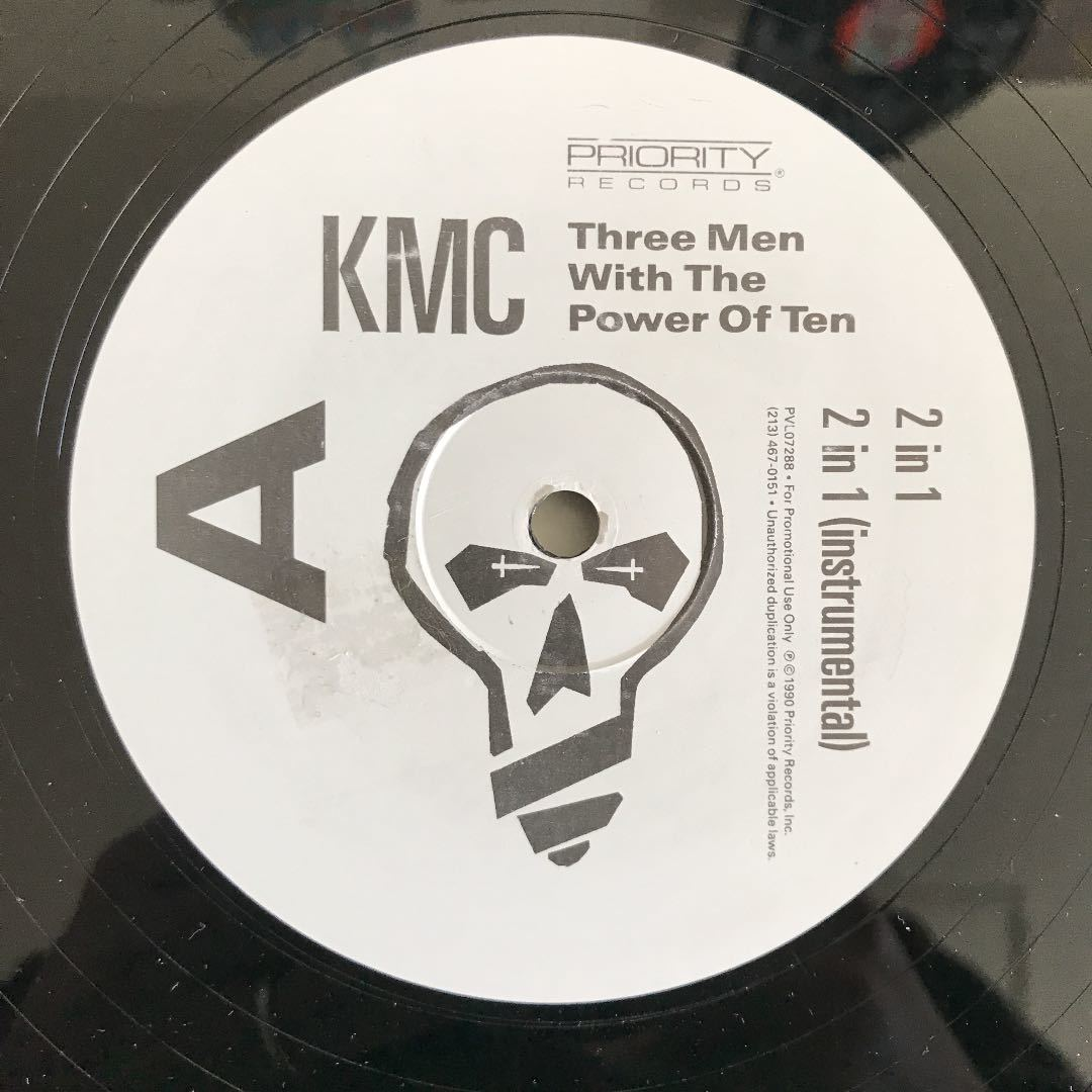KMC - Three Men With The Power Of Ten【US Promo】【プロモ】【Southside Movement-Save the World/J.J. Johnson-Willie Chaseネタ】_画像1