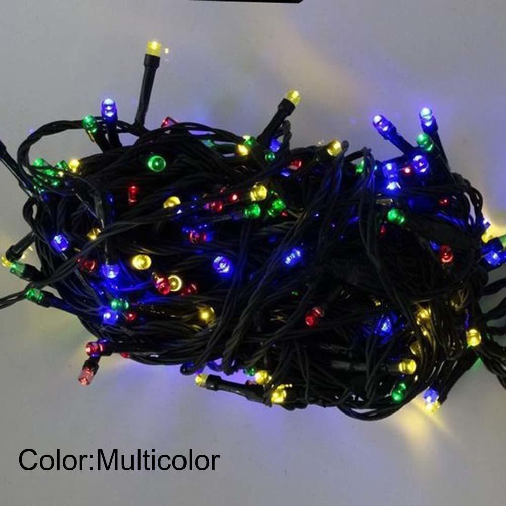 送料無料 新品 装飾 ソーラーライト LED 結婚式 パーティー クリスマス インテリア 照明 屋外用ライト ホワイト マルチカラー_画像6