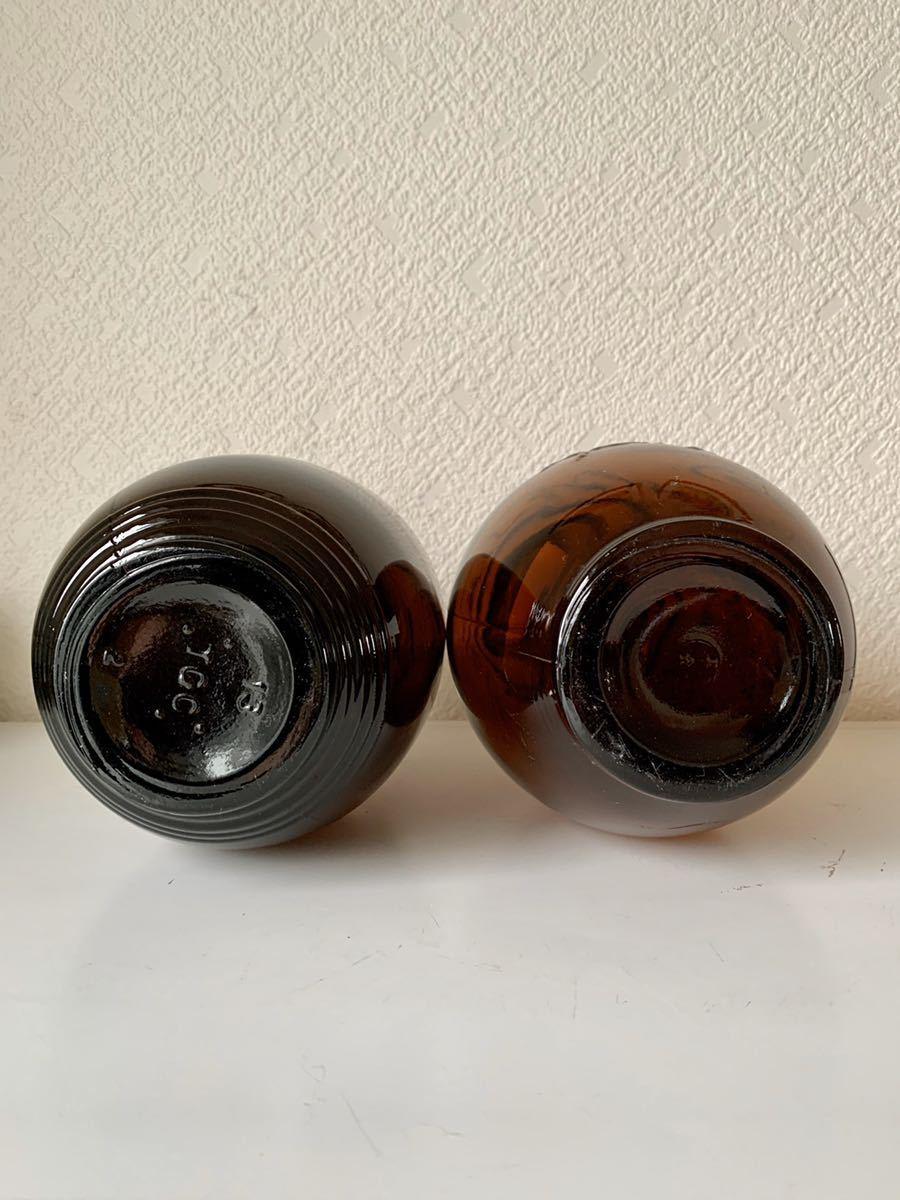 サクラビール キリンビール ビール瓶2本セット 昭和レトロ_画像2