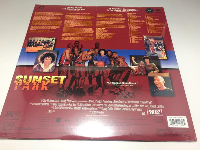 ★新品未開封★ sunset park ◆LD(レーザーディスク) 輸入盤 568_画像3
