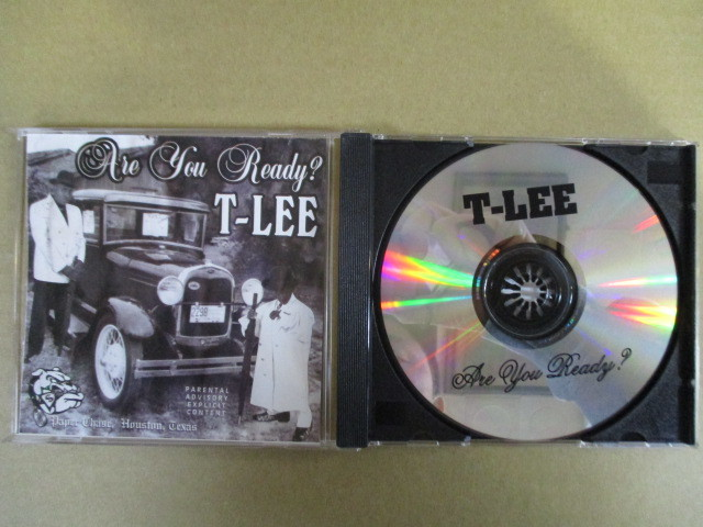 【G-RAPマニア放出¥500~!!】 T-LEE / ARE YOU READY_画像1