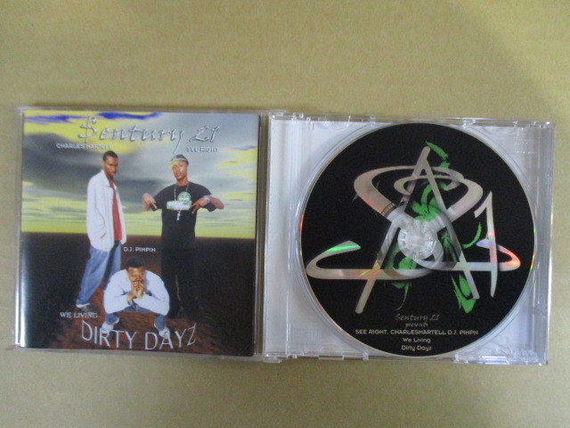 【G-RAPマニア放出¥500~!!】 $ENTURY 21 PRESENTS SEE IRGHT, CHARLES MARTELL, D.J. PIMPN / WE LIVING DIRTY DAYZ_画像1