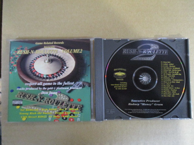 【G-RAPマニア放出¥500~!!】 GAME RELATED RECORDS PRESENTS / RUSH-N-ROULETTE VOLUME 2_画像1