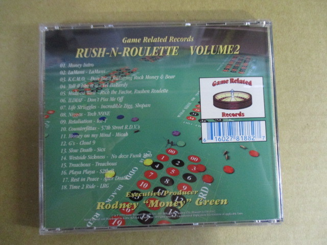 【G-RAPマニア放出¥500~!!】 GAME RELATED RECORDS PRESENTS / RUSH-N-ROULETTE VOLUME 2_画像2
