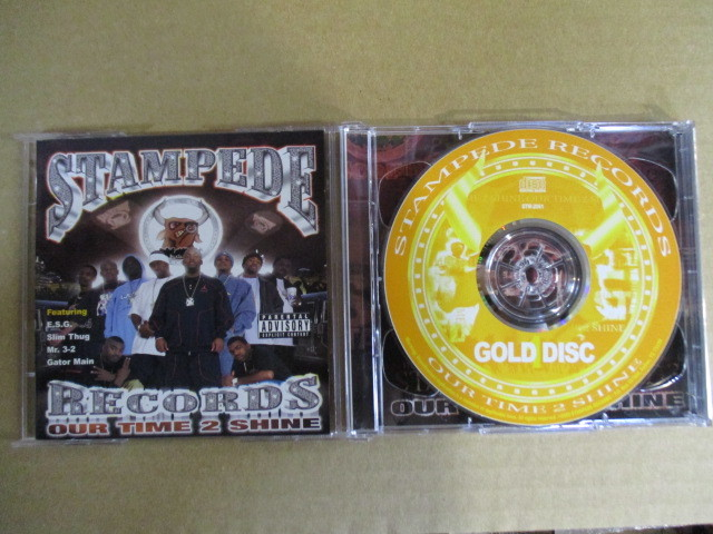 【G-RAPマニア放出¥500~!!】 STAMPEDE RECORDS / OUR TIME 2 SHINE 2CD_画像1