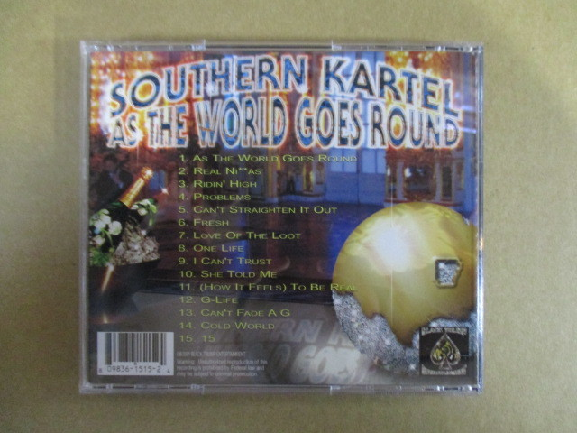 【G-RAPマニア放出¥500~!!】 SOUTHERN KARTEL / AS THE WORLD GOES ROUND_画像2