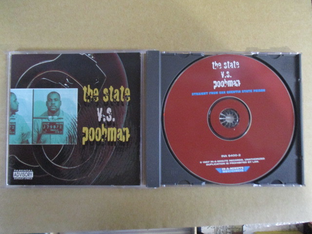 【G-RAPマニア放出¥500~!!】 POOHMAN / THE STATE V.S. POOHMAN_画像1