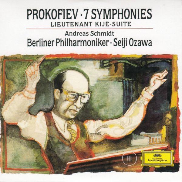 [CD/Dg]プロコフィエフ:交響曲第3番ハ短調Op.44&交響曲第4番ハ長調Op.112/小澤征爾&ベルリン・フィルハーモニー管弦楽団 1992_画像1