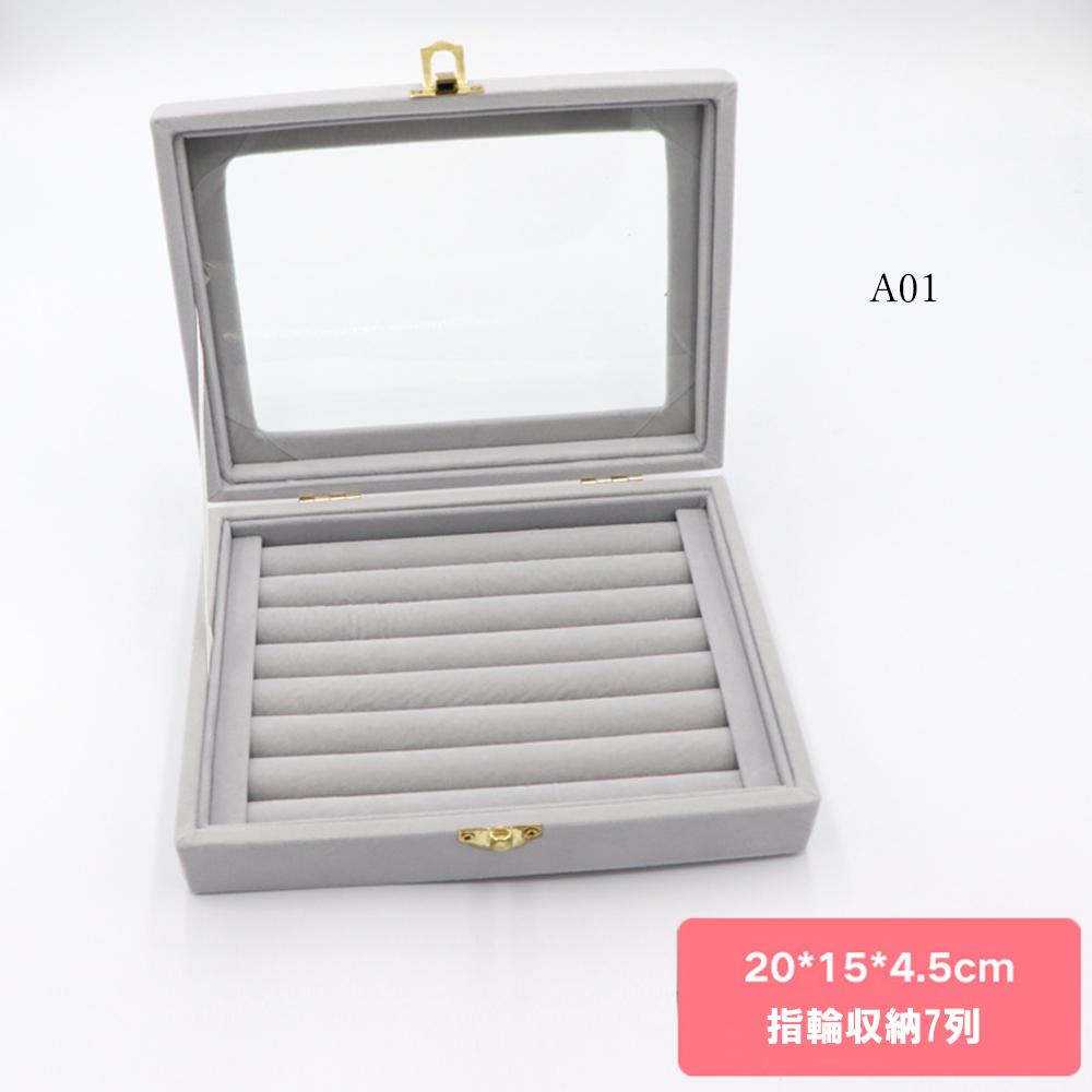 ジュエリーボックス アクセサリーケース 携帯用 大容量 ネックレス イヤリング 指輪 収納 おしゃれ ピアス_画像2