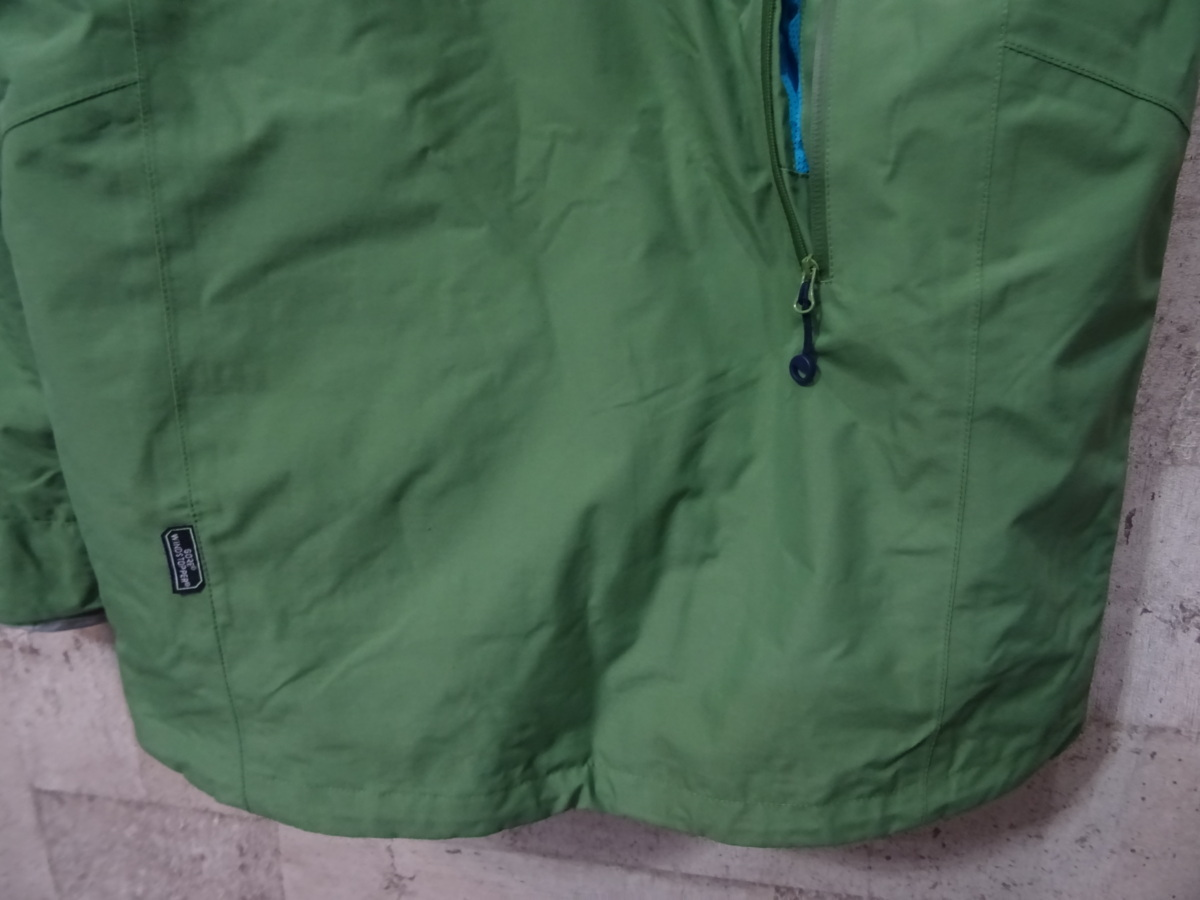 17-18 REW KAMIKAZE F+LIGHT JACKET GORE ゴア S ARMY 中古_画像4
