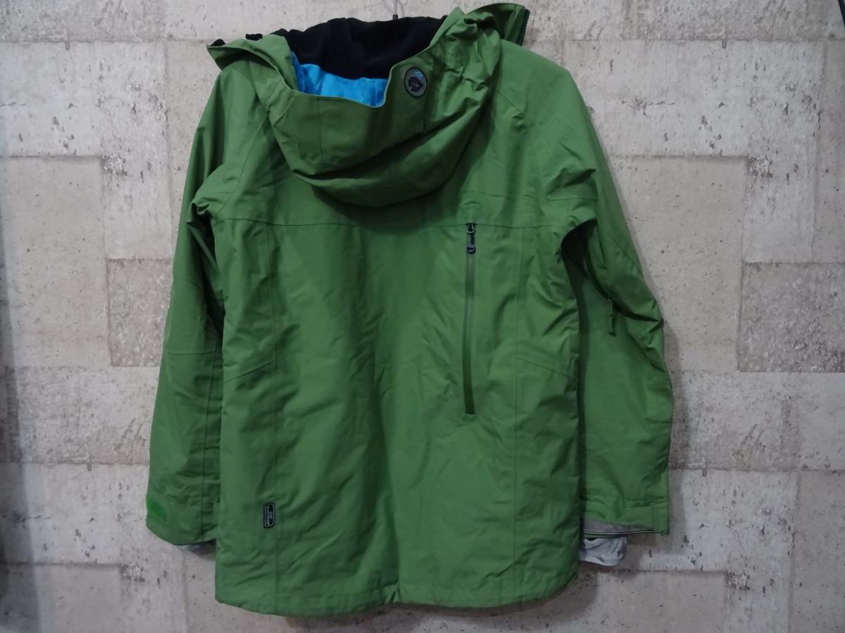 17-18 REW KAMIKAZE F+LIGHT JACKET GORE ゴア S ARMY 中古_画像3