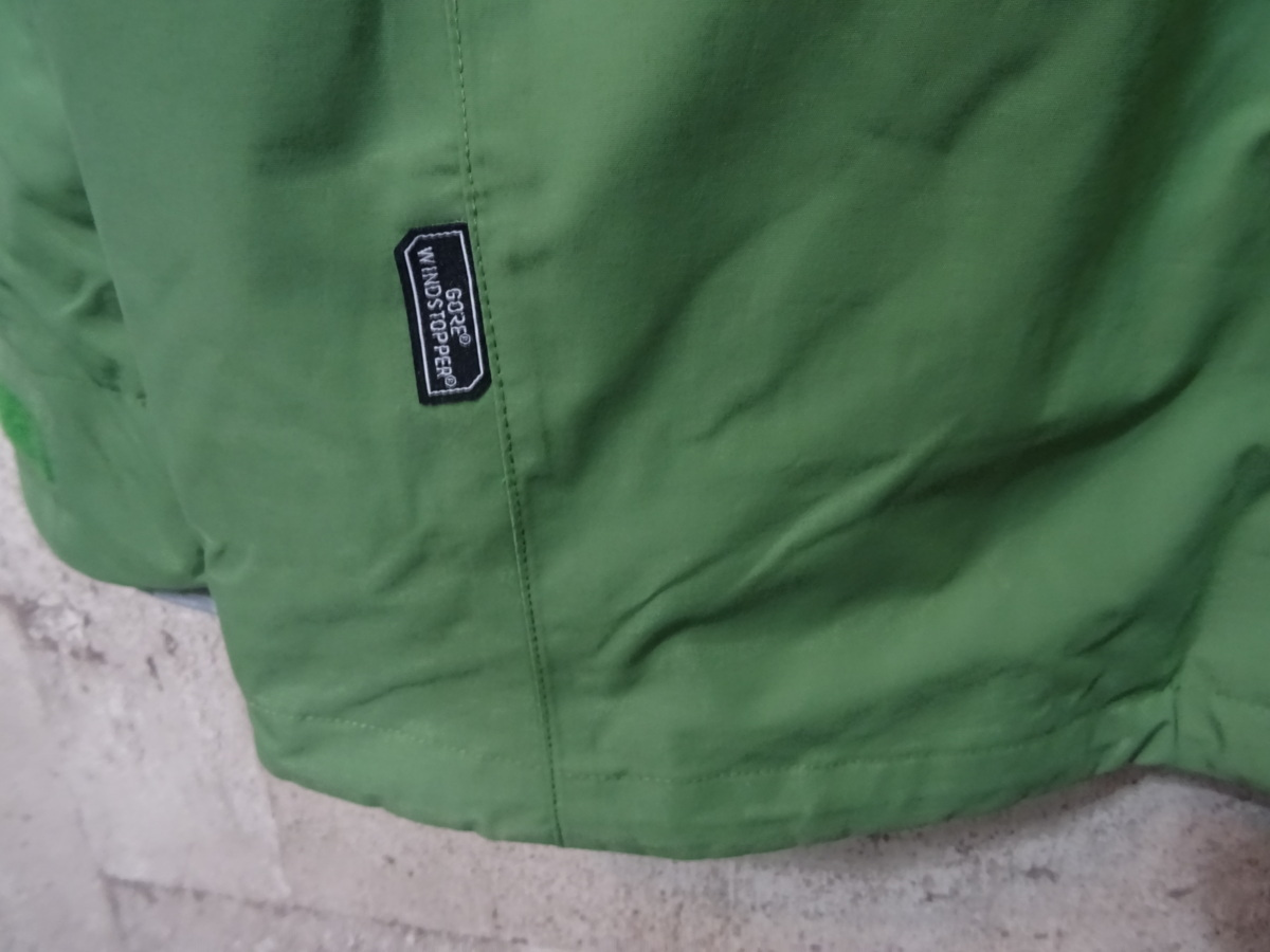 17-18 REW KAMIKAZE F+LIGHT JACKET GORE ゴア S ARMY 中古_画像10