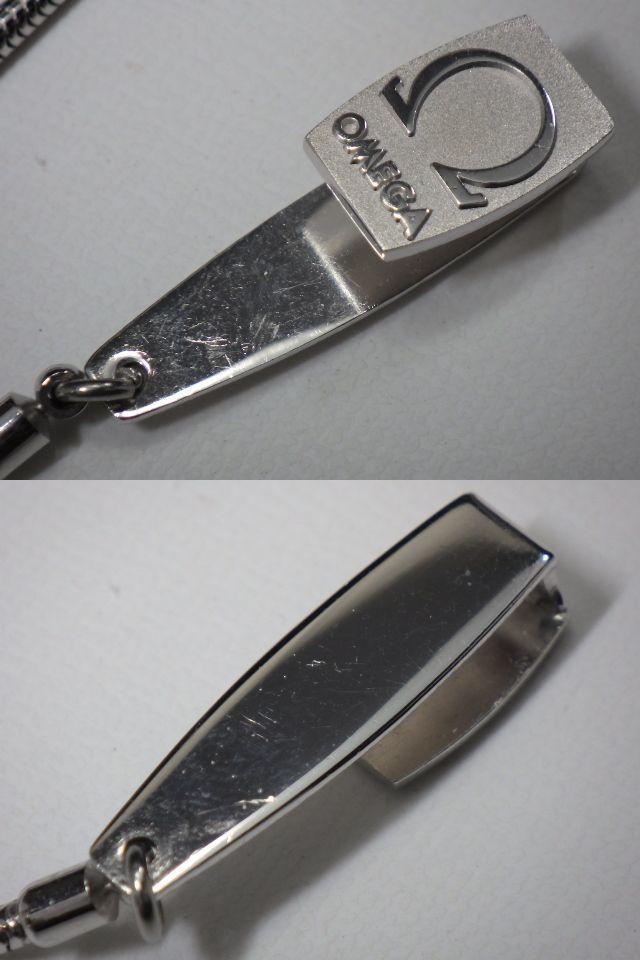 r0B066R OMEGA オメガ ジュネーブ 懐中時計 手巻き スモールセコンド ホワイト文字盤 稼働品 チェーン付き スイス製 //30