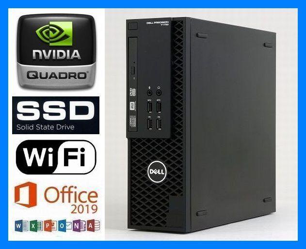 究極◆i7-4790K(4.4GHz×8)◆超大容量メモリ32GB◆新品SSD 960GB◆新品HDD 3TB◆グラボ NVIDIA Quadro◆Wi-Fi(無線)◆Microsoft Office2019