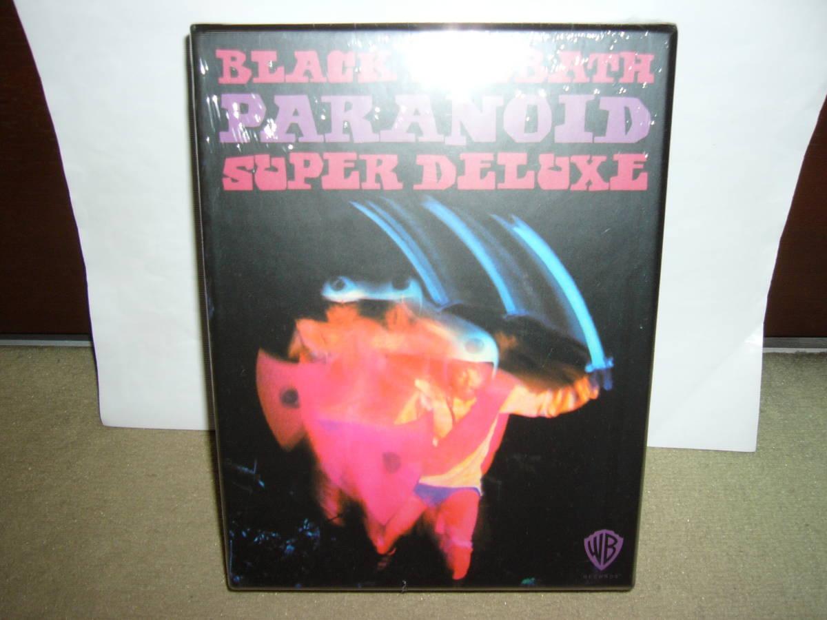 初期大傑作2nd「Paranoid」リマスター・アルバム別ヴァージョン及び未発表ライヴ二作含む四枚組BOX仕様限定盤 輸入盤未開封新品。_画像1