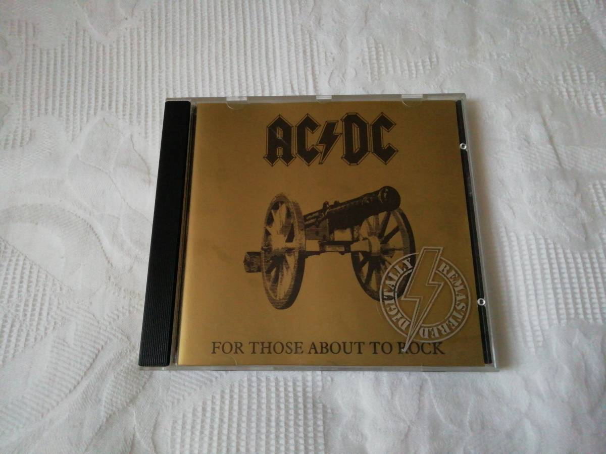 【AC/DC】 For Those About To Rock_画像1