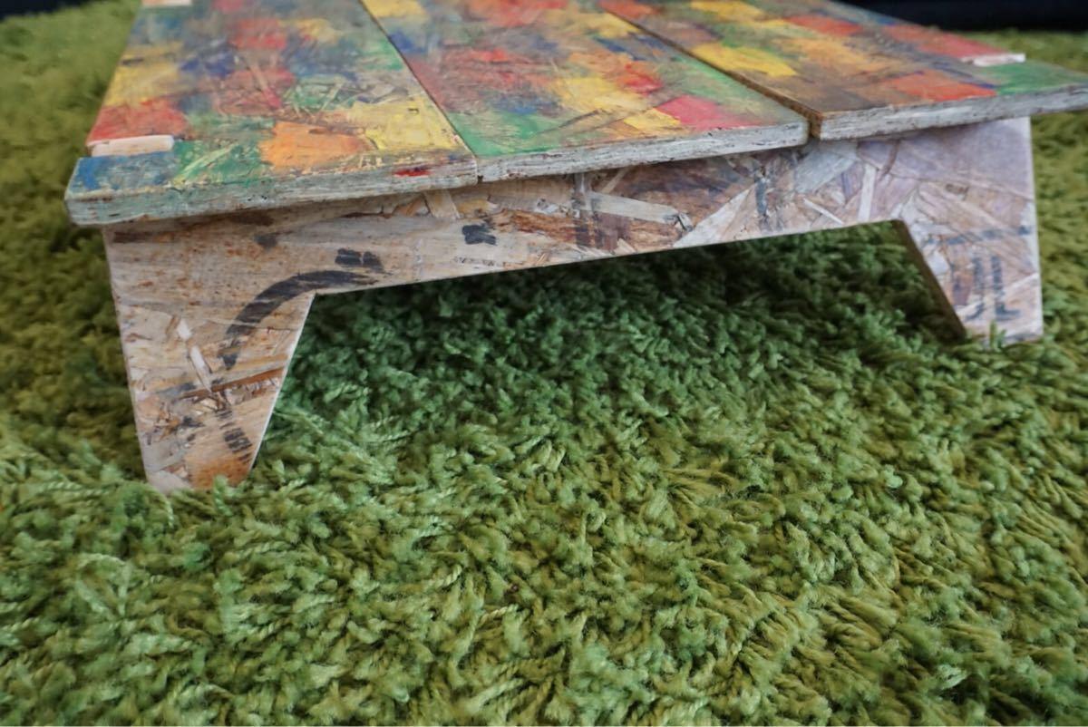 アウトドア ミニテーブル  Antique Rainbow