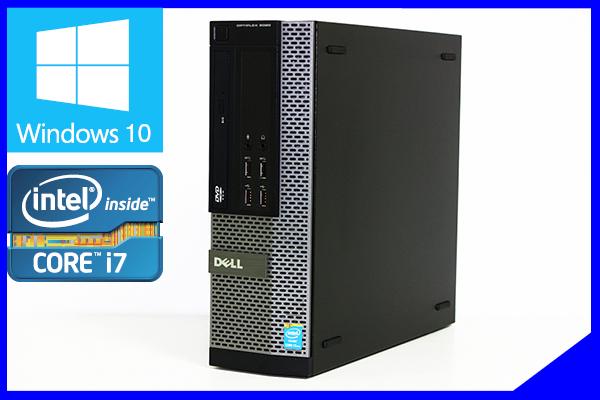 1円 Core i7 4790 新品SSD960GB メモリー24GB 新品HDD2TB(2000GB) ブルーレイ Win10 送料無料 無線LAN Wi-Fi MS Office2019 DELL 7020SFF