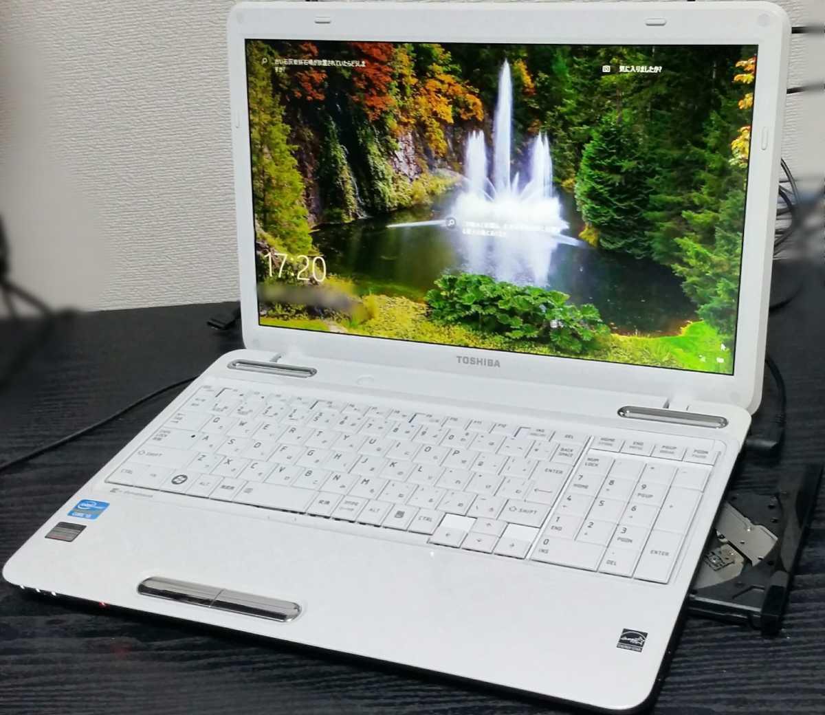 n28 コスパ◎起動約10秒(^o^)爆速【Core i3 メモリ8GB SSD新品480GB】dynabook Win1O Office HDMI【即決新品バッテリー Blu-ray他特典♪】