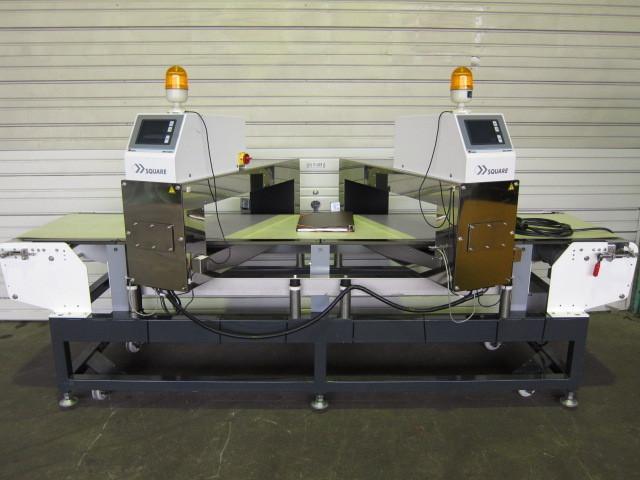 【オススメ】システムスクエア 金属検出器 MetaHawk2 注射針 探知機 コンベア 全長2.6m 三相200V