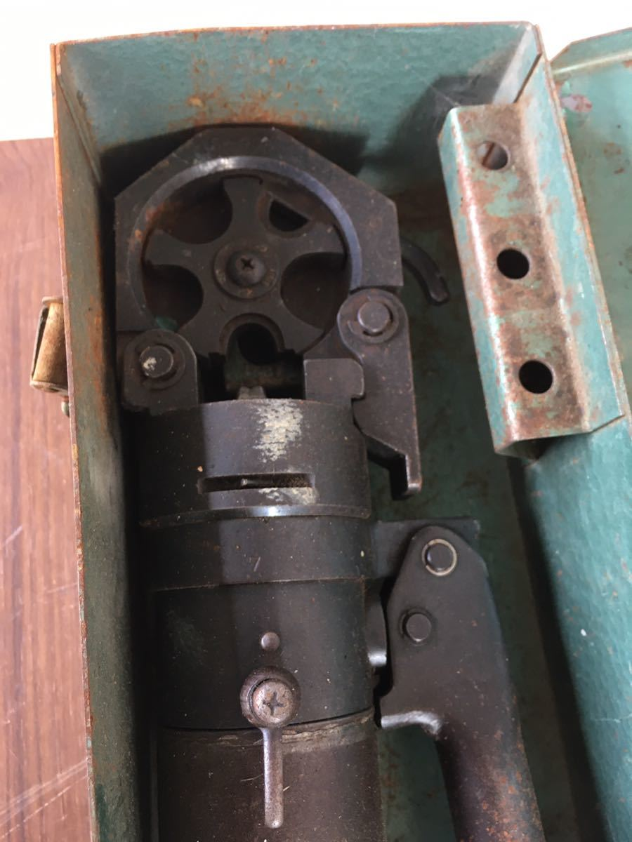 ★カクタス 手動油圧式圧着工具 S-90A ケース付★_画像3
