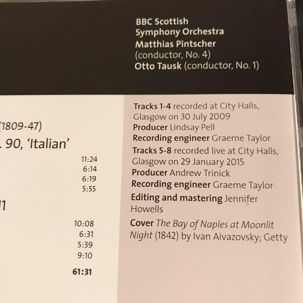 美品 BBC MUSIC MAGAZINE メンデルスゾーン 交響曲 4番 イタリア ピンチャー 2009 1番 タウスク 2015 LIVE BBCスコティッシュ交響楽団_画像3
