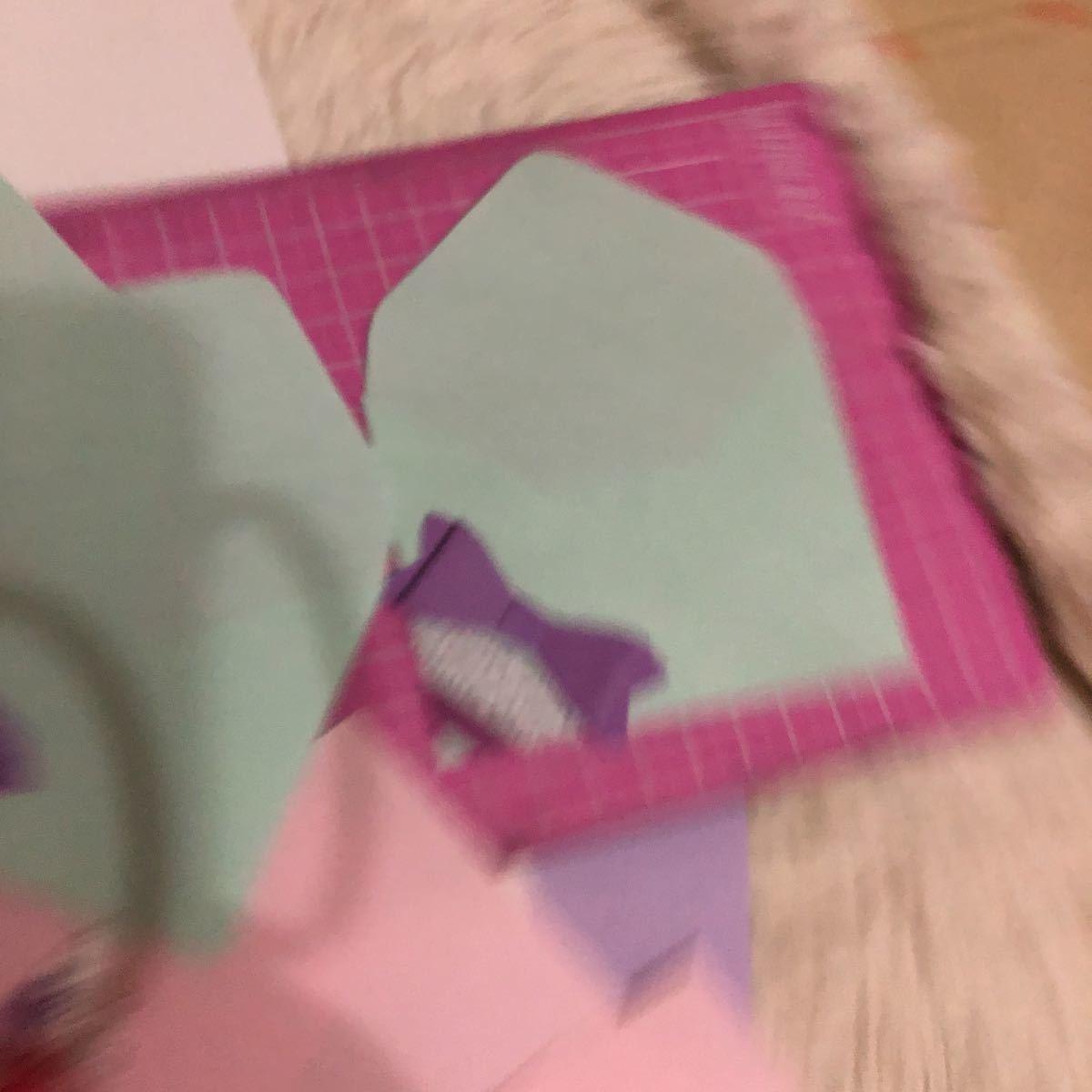 ハンドメイド ミニ封筒 ポチ袋 ペーパー プレゼント ラッピング リボン 蝶 アソート 35枚 オリジナル_画像2