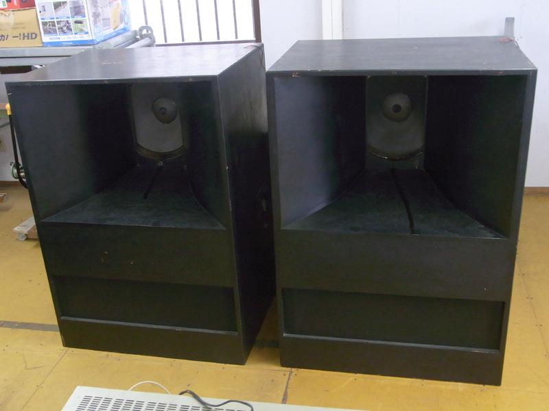 ALTEC LANSING スピーカー A7-XP ? 416-8B N1209-8A 中古 エンクロージャ付きペア 発送不可_画像1