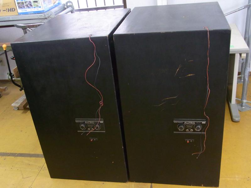 ALTEC LANSING スピーカー A7-XP ? 416-8B N1209-8A 中古 エンクロージャ付きペア 発送不可_画像4