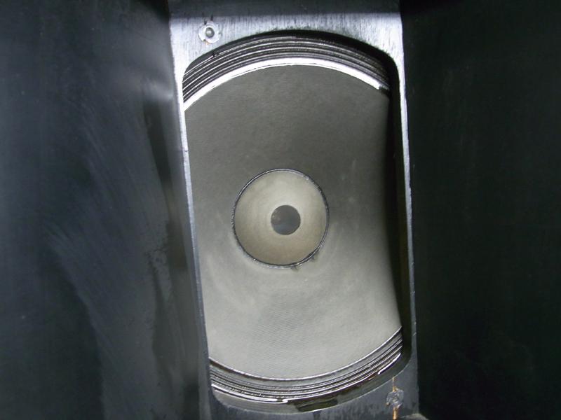 ALTEC LANSING スピーカー A7-XP ? 416-8B N1209-8A 中古 エンクロージャ付きペア 発送不可_画像9