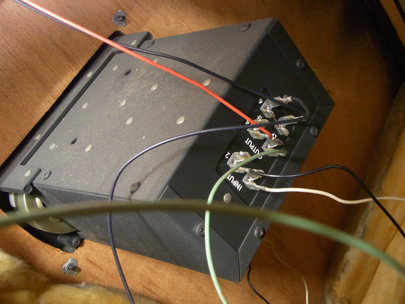 ALTEC LANSING スピーカー A7-XP ? 416-8B N1209-8A 中古 エンクロージャ付きペア 発送不可_画像10