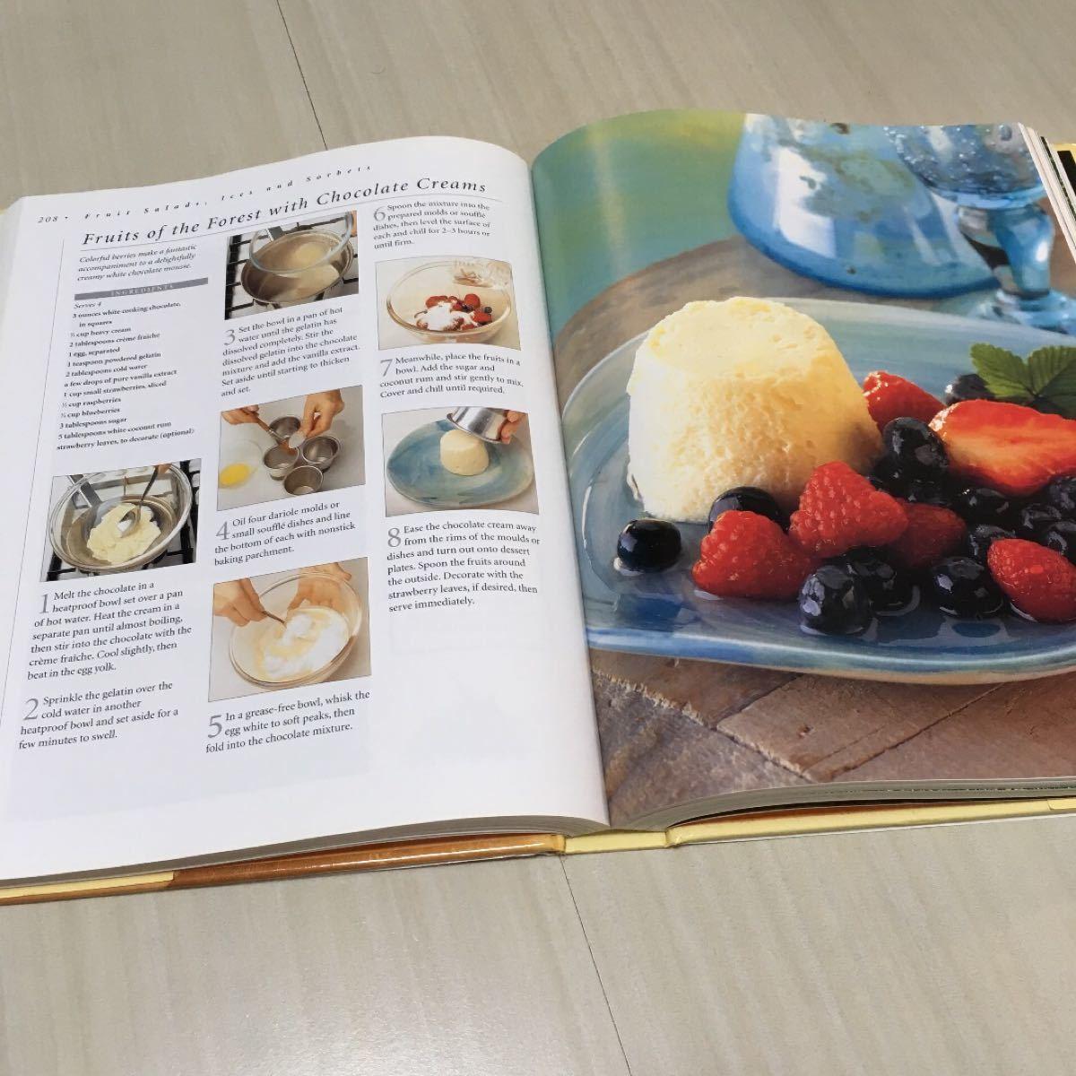 洋書 desserts 350以上のレシピ本