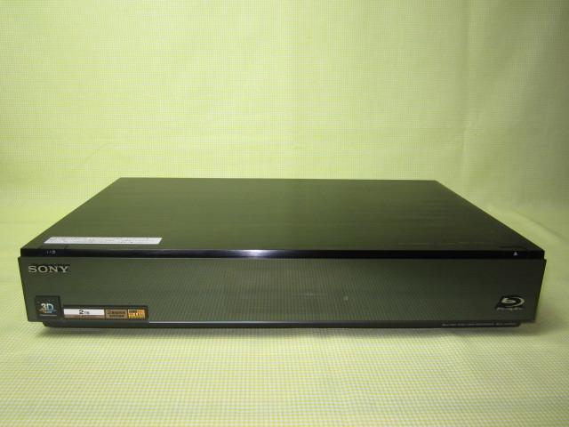 フラッグシップモデル【美品】◆SONY ブルーレイレコーダー BDZ-AX2000 高画質【CREAS Pro】搭載/新品リモコン・HDMI・純正電源ケーブル◆_画像2
