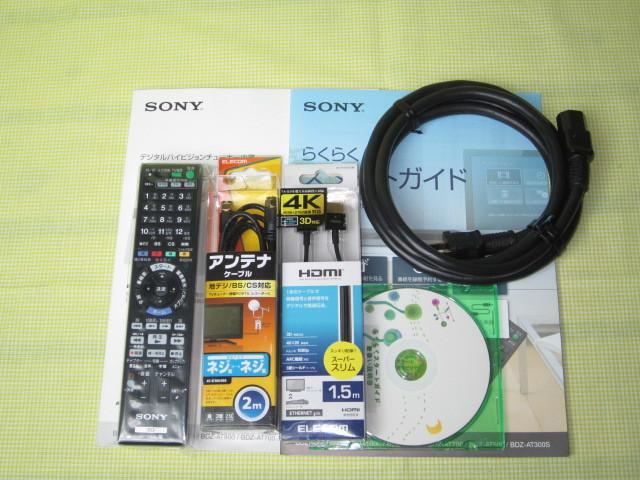 フラッグシップモデル【美品】◆SONY ブルーレイレコーダー BDZ-AX2000 高画質【CREAS Pro】搭載/新品リモコン・HDMI・純正電源ケーブル◆_画像4