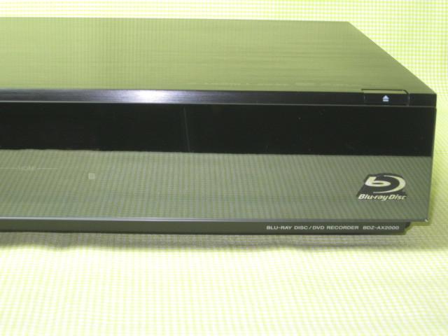 フラッグシップモデル【美品】◆SONY ブルーレイレコーダー BDZ-AX2000 高画質【CREAS Pro】搭載/新品リモコン・HDMI・純正電源ケーブル◆_画像6