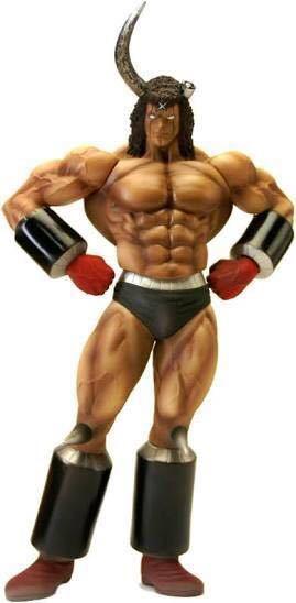 ●キン肉マン バッファローマン デビルシャークVer CCP Muscular Collection Vol.82 ファミマ限定 フィギュア 未開封品●_画像1