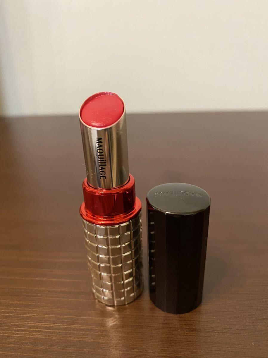 マキアージュ ドラマティックルージュEX RD430 レッド 赤 口紅 中古品