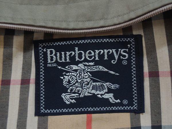 Burberrys バーバリー バルマカーン コート 88 160 カーキ ベージュ ビンテージ 高級 上質 ノバチェック_画像3