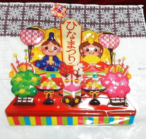 ひな祭りインテリアボード Hinamatsuri Interior Board,住まい、インテリア&季節、年中行事&その他