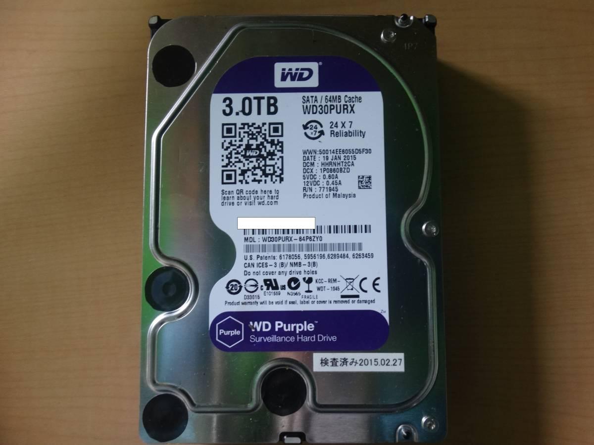 00014 WESTERN DIGITAL WD 3TB WD30PURX 3000GB