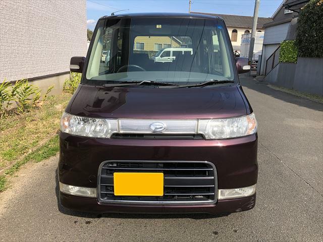 タント カスタム L350S 走行131346Km 19年11月式  車検令和2年10月19日 福岡